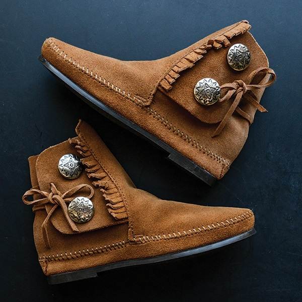 MEN'S TWO BUTTON BOOTS